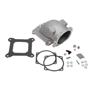 HOLLEY GM LS EFI THROTTLE BODY INTAKE ELBOW 4150