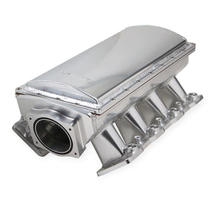 HOLLEY SNIPER EFI FABRICATED RACE SERIES INTAKE MANIFOLD GM LS3/L92 90MM SILVER