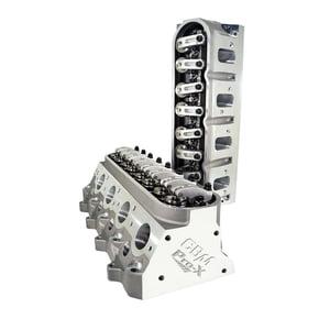 CBM MOTORSPORTS™ PRO-X™ CNC PORTED 6/4 BOLT COMPLETE LS3 CYLINDER HEADS