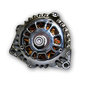CBM MOTORSPORTS™ LS SERIES HI AMP CHROMED ALTERNATOR