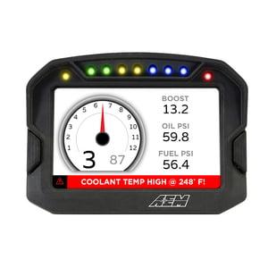 CBM MOTORSPORTS AEM CD-5 CARBON DIGITAL RACING DASH DISPLAY KIT