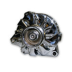 CBM MOTORSORTS™ LS SERIES CHROMED HIGH MOUNT 105 AMP ALTERNATOR