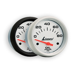 LIVORSI ELECTRIC AUTOMOTIVE OIL PRESSURE GAUGES 0-80 PSI