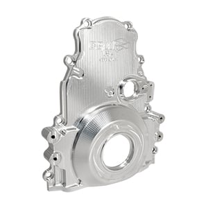 CBM MOTORSPORTS BILLET LS SERIES FRONT ENGINE COVER