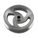 CBM MOTORSPORTS™ ECOTEC BILLET POWER STEERING PULLEY NATURAL