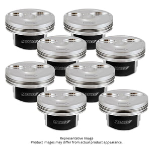 MANLEY PLATINUM -2CC DOME PISTON SET CHEVY DIRECT INJECTED LT1 3.622 STROKE 4.065 BORE