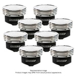 MANLEY PLATINUM -11CC DISH PISTON SET CHEVY LSX 4.250 STROKE 4.125 BORE