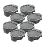 MAHLE MOTORSPORT -6CC DISH POWERPAK PLUS PISTON KIT CHEVY GEN V LT1 4.000 STROKE 4.125 BORE