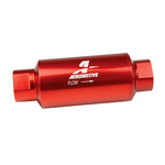 AEROMOTIVE 40 MICRON, ORB-10 RED FUEL FILTER
