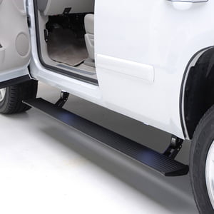 AMP RESEARCH POWERSTEP ELECTRIC RUNNING BOARDS PLUG N PLAY SYSTEM FOR 2019-2020 CHEVROLET/GMC SILVERADO/SIERRA 1500, 2020 CHEVROLET/GMC SILVERADO/SIERRA 2500/3500 ,DOUBLE AND CREW CAB