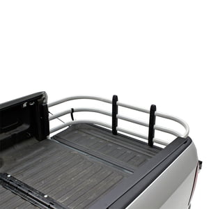 AMP RESEARCH 74815-00ASILVER BEDXTENDER HD SPORT TRUCK BED EXTENDER FOR 2007-2018 SILVERADO/SIERRA 1500 (INCL 2019 SILVERADO LD/SIERRA LIMITED), 2007-2019 SILVERADO/SIERRA 2500/3500, STANDARD BED