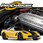 PROCHARGER HIGH OUTPUT INTERCOOLED SUPERCHARGER SYSTEM P-1SC-1 2014-17 CORVETTE C7 LT1 Z51
