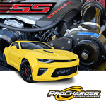 PROCHARGER STAGE II INTERCOOLED SUPERCHARGER SYSTEM P-1X 2016-17 CAMARO SS LT1