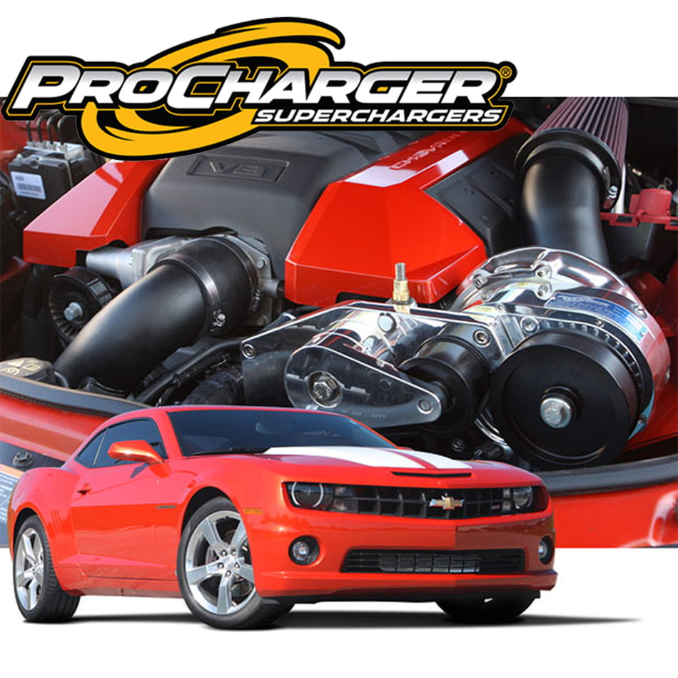 PROCHARGER STAGE II INTERCOOLED SUPERCHARGER SYSTEM P-1X 2010-15 CAMARO SS  LS3 L99